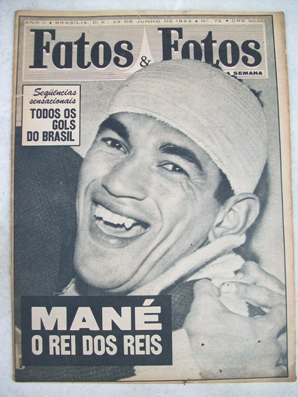 Fatos E Fotos Nº 73: Copa Do Mundo - Miss Brasil - 1962