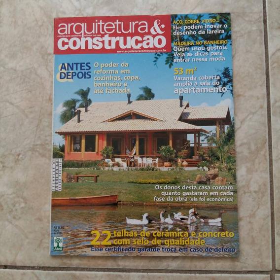 Revista Arquitetura & Construção 5/2004 Telhas De Cerâmica