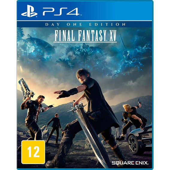 Final Fantasy Xv (mídia Física, Legendado Pt-br) - Ps4