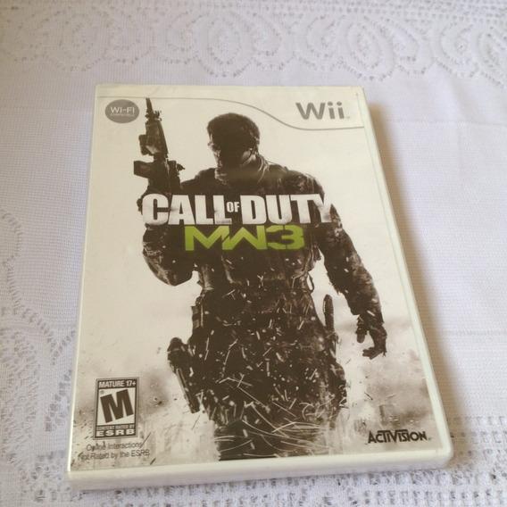 Call Of Duty Mw3 (nintendo Wii, 2011) Lacrado De Fabrica