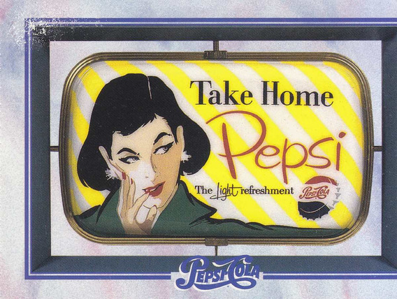 1995 Dart Flipcards Pepsi Advertising Card #162