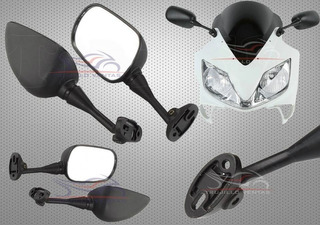 Espejos Honda Cbr 250 Honda Cbr600 F4 Honda Cbr 600 1000 @tv