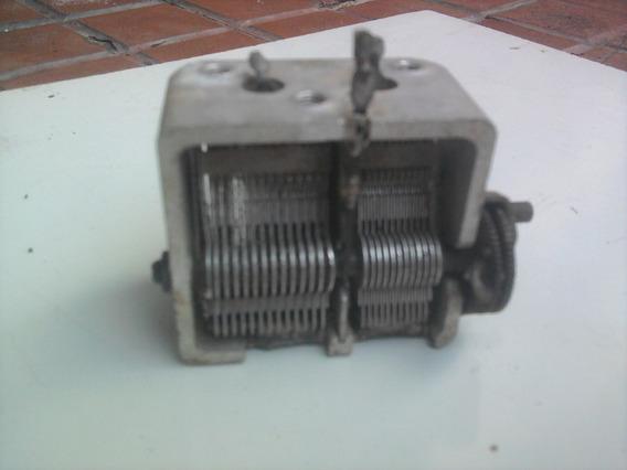 Capacitor Variável Para Rádio À Válvula