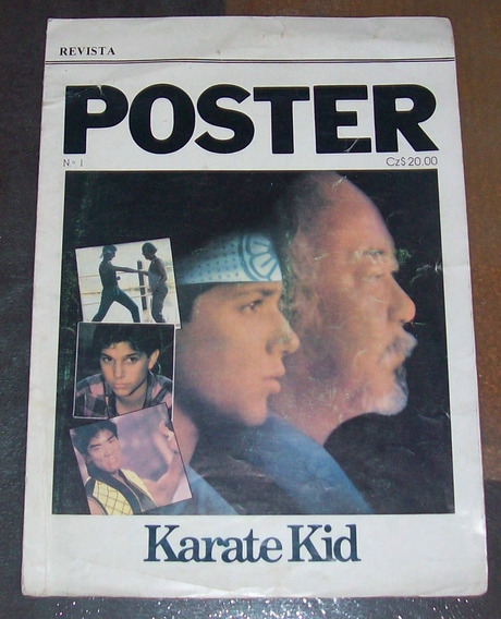 Revista Poster Karate Kid - Ralph Macchio