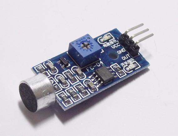 Módulo Sensor De Som Palmas Lm393 Para Arduino Pic