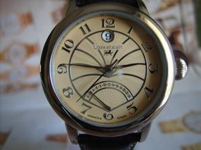 Loewenstein Relógio Alemão Cronos Funcionais Novo Box