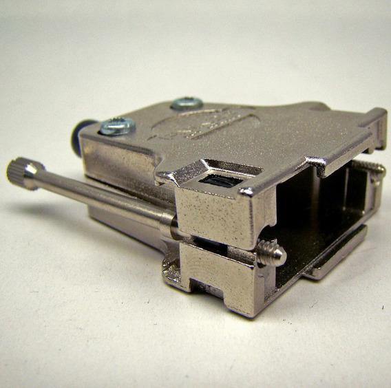 Capa Metálica Especial P/ Conector Db15 15 Pinos 2 Fileiras