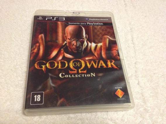 God Of War Collection (god Of War 1 E 2 Em Um So Cd Remaster