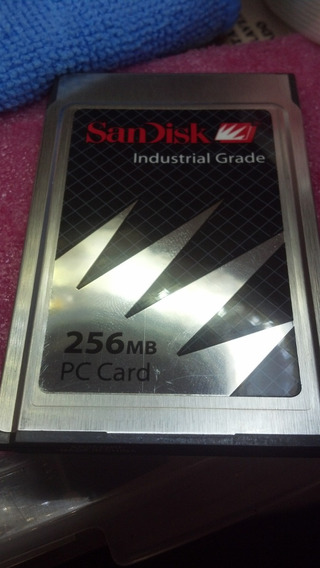 256mb Pcmcia Flash Card Sandisk, Sdp3b-256-201-80 Industrial