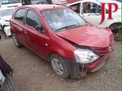 Sucata Toyota Etios 2013 - Motor Câmbio Peças E Acessórios
