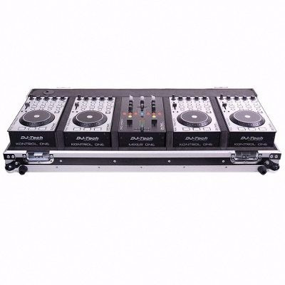Kit Mixer Controlador Dj Tech Hybrid 101- 4 Decks Novo