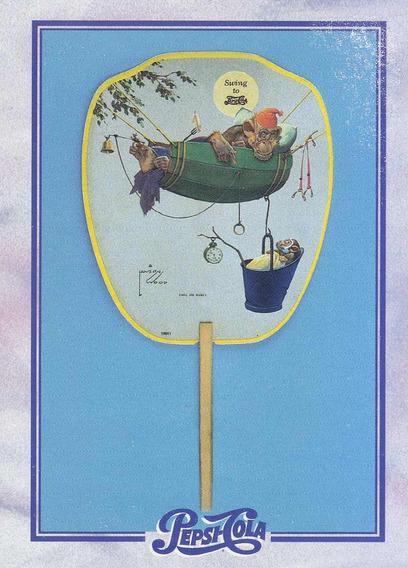 1995 Dart Flipcards Pepsi Advertising Card #143