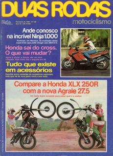 Duas Rodas N°128 Honda Xlx 250r Agrale 27.5 Kawasaki 1000r