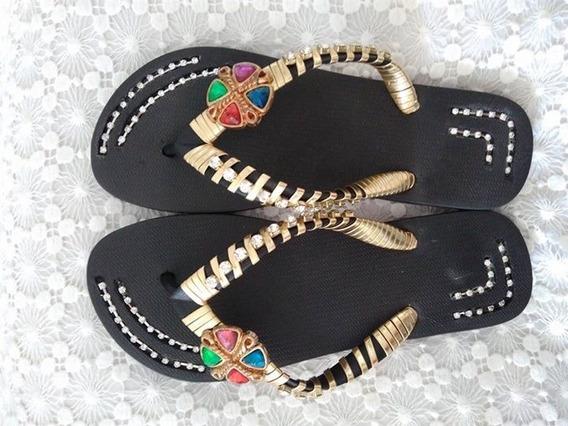 Sandálias Customizadas. Pésonalizados.