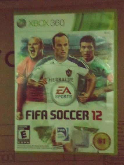 Fifa Soccer 12 Midia Fisica Xbox 360 Original