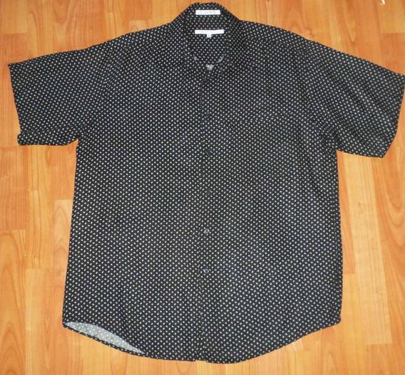 Perry Ellis Camisa Moda Urbana Talla Mediana/grande