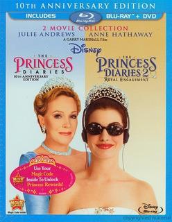 Blu-ray Princess Diaries 1 & 2 / Diario De La Princesa 1 & 2