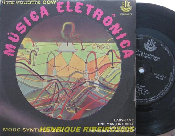 The Plastic Cow Compacto Moog Synthesizer Música Eletrônica