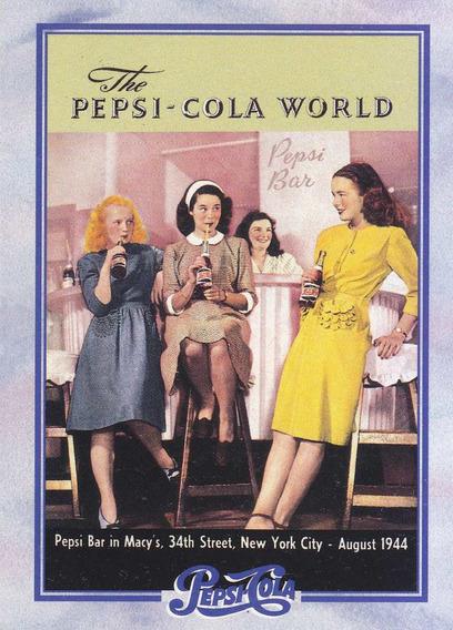 1995 Dart Flipcards Pepsi Advertising Card #154