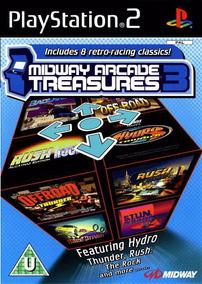 Jogo Ps2 Midway Arcade Treasures 3 Original