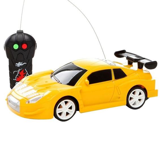 Carro Controle Remoto Estrela Road Car - Com 3 Funções - Ama