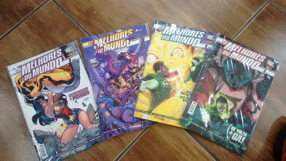 Os Melhores Do Mundo Dc Comics Panini Nº6