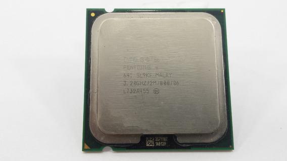 Processador Intel Pentium 4 Ht 641 Cache 2mb 3.2ghz
