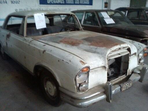Coupe Mercedes Benz 220 Sec