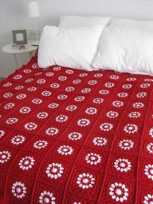 Colchas Al Crochet Tejidos Artesanales 60000 En Mercado Libre