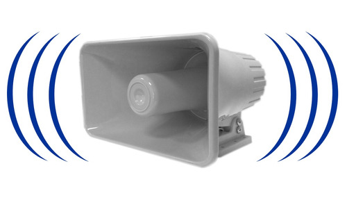 Alarma Vecinal. Sirena Inalambrica Tipo Corneta 120 Db. 30w