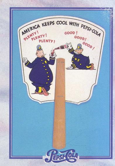 1995 Dart Flipcards Pepsi Advertising Card #127