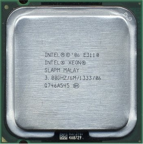 Processador Intel Xeon Dual-core 3.0ghz 6mb P/n Slapm E3110