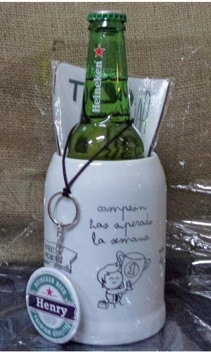 Imagen 1 de 6 de Kit De Jarra De Cerveza Dia Del Padre