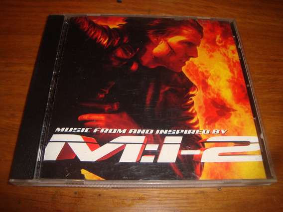 Mission Impossible 2 - Soundtrack- Cd (metallica-godsmack)