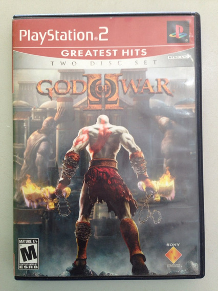 God Of War Ii Ps2 Original Apenas 99,00