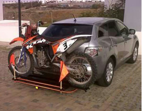 Remolque Rack Envidioso Para Moto De Cross