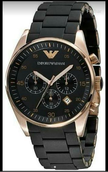 Relógio Emporio Armani Ar5905 Pretocom Garantia - Origin