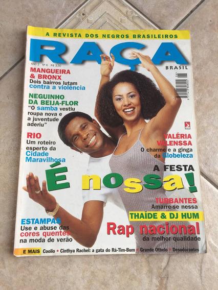 Revista Raça 6 Neguinho Da Beija Flor Valéria Valenssa H959