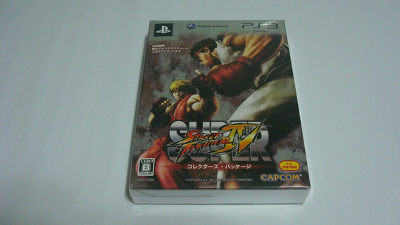 Super Street Fighter Iv Limited Edition Japan Ps3