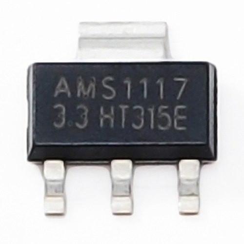 10x Ci Ams1117 3.3v Regulador Tensao Pra Esp8266 Sao Paulo