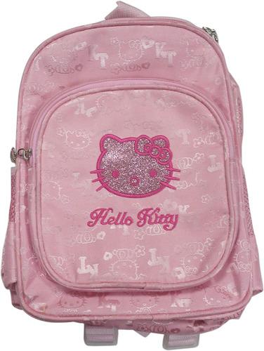 Mini Morral Hello Kitty Bolso Escolar 2 Compartimientos