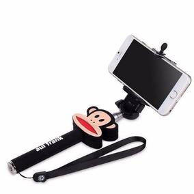 Pau De Selfie Monopod C/ Controle Remoto Bluetooth