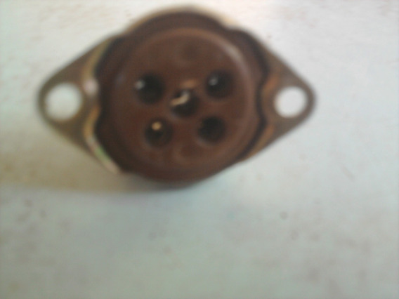 Soquete De Válvula De Porcelana Para Rádios Antigo