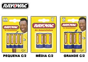 Pilhas Rayovac Pequena C/60