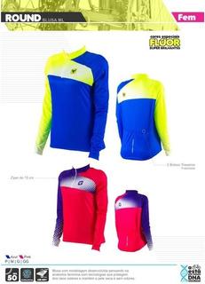 Camisa De Ciclismo Fem. Freeforce Round