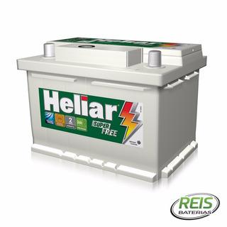 Bateria De Carro Heliar 60ah Super Free Hf60hd ( Cx. Alta )