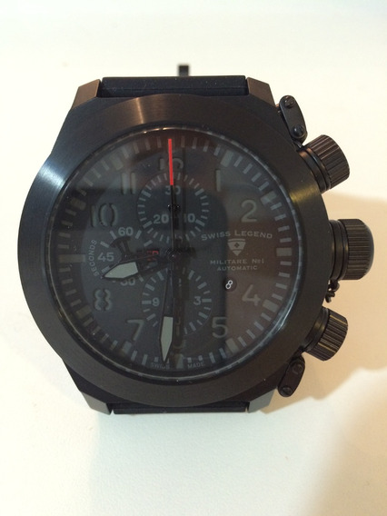 Relógio Automático Swiss Legend Militare No. 1