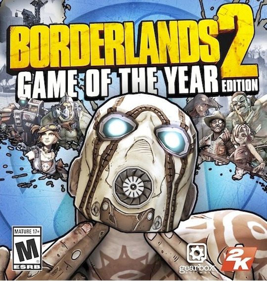 Borderlands 2 Game Of The Year Pc / Mac ( Goty) Original