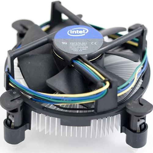 Imagen 1 de 3 de Cooler Intel Socket 1151 1150 1155 1156 Original - Nuevo