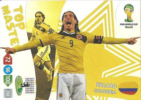 Cards Copa 2014 Adrenalyn Top Master Falcao
